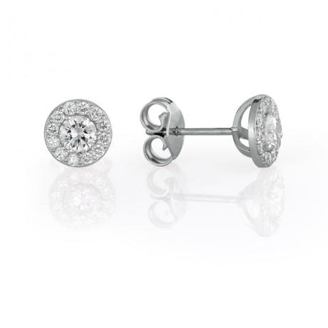 עגילי יהלום הבורסה ליהלומים
