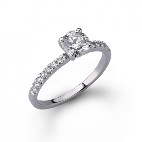 טבעת אירוסין קלאסית מבוקשת