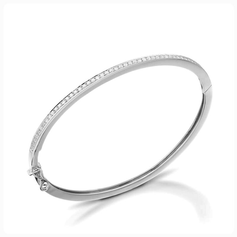 צמיד יהלומים קשיח זהב לבן , לפרטים בטלפון 0722555227