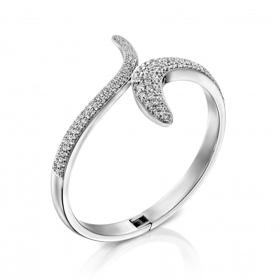 צמיד יהלומים נחש , לפרטים 072-2555227
