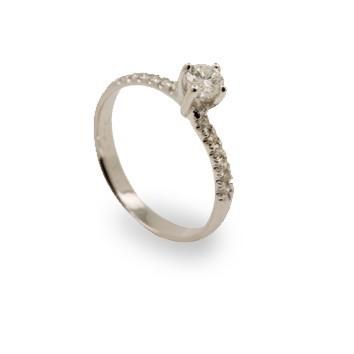 טבעת אירוסין קלאסית זהב, לפרטים 0722555227