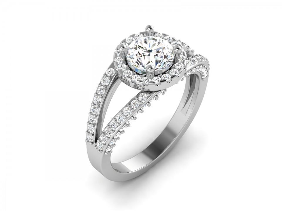 טבעת אירוסין קלאסית לאישה