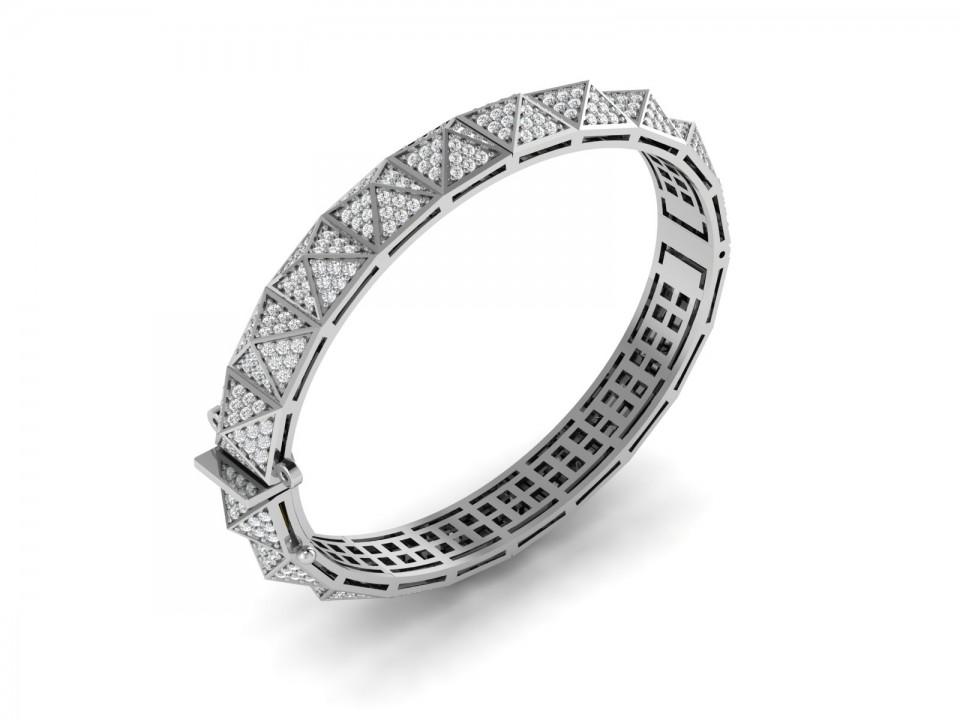 צמיד יהלומים פרמידות , לפרטים בטלפון 0722555227