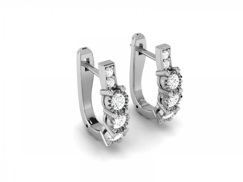 עגילי יהלומים נופלים , לפרטים 0722555227