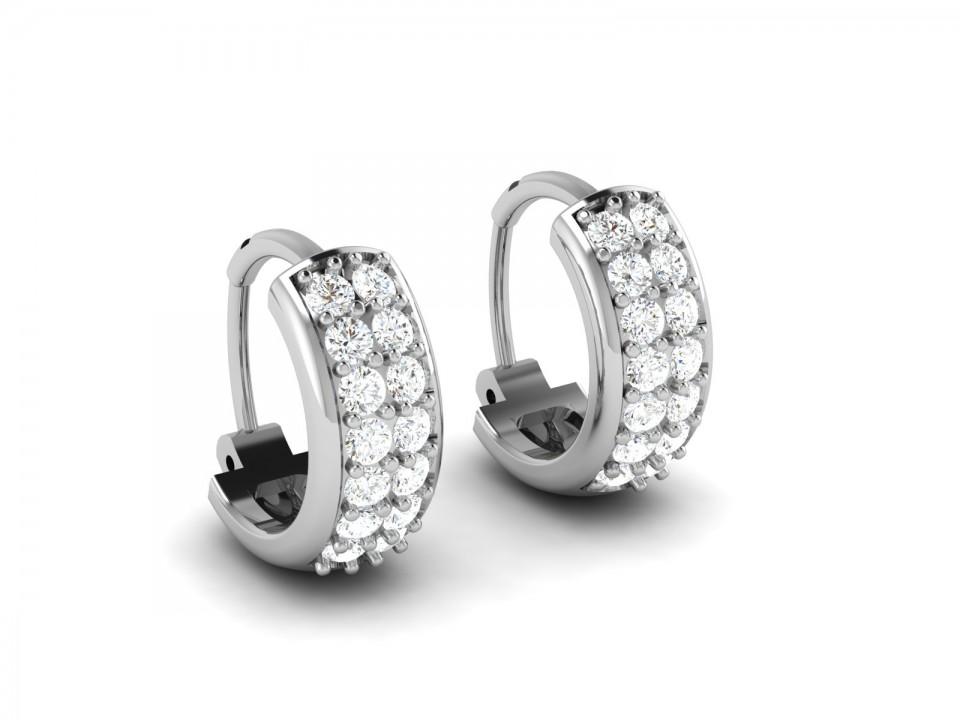עגילי יהלום צמודים ג'קסון , לפרטים 0722555227