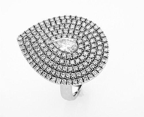טבעת יהלומים יוקרתית טיפה , לפרטים 0722555227