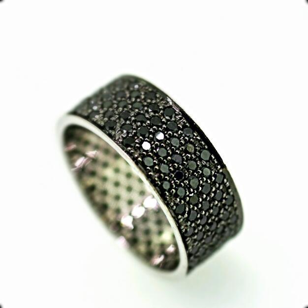 טבעת יהלומים שחורים , לפרטים 0722555227