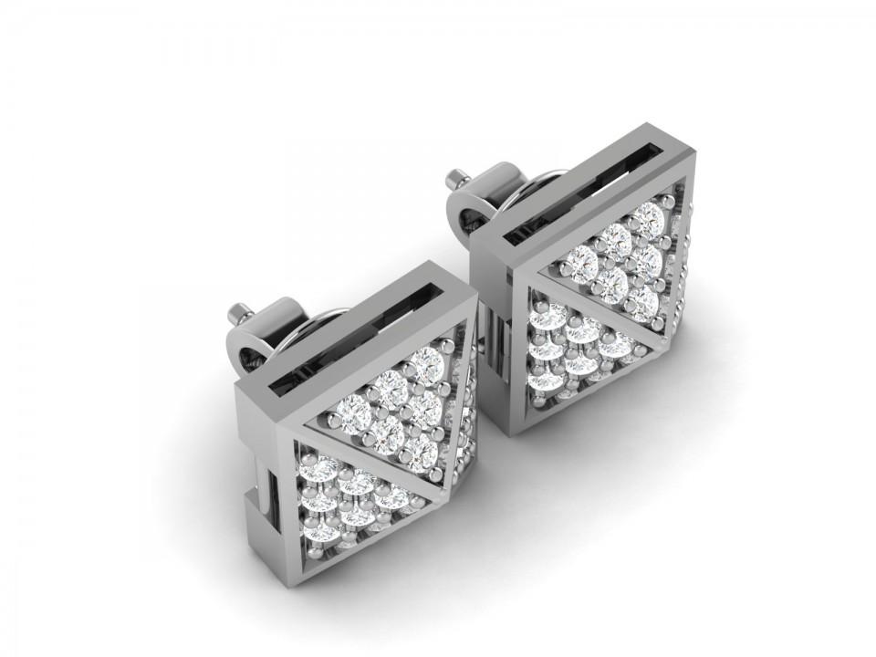 עגילי יהלום צמודים חצי קראט , לפרטים 0722555227