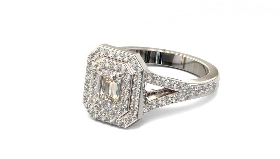 טבעת אירוסין יהלום אמרלד , לפרטים 0722555227